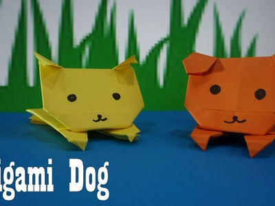 How To Make An Origami Origami dog || paper craft art