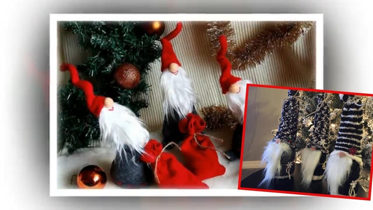 Christmas Gnomes Diy.How To Make Christmas Gnomes Scandinavian Tomte Nisse