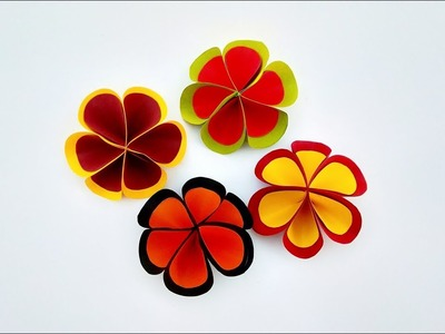 Origami How To Make Paper Flower Origami Flower Diy How To
