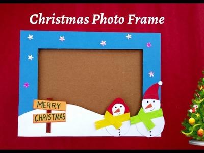 How to make Photo Frame   Photo Frame Craft   Cardboard Photo Frame