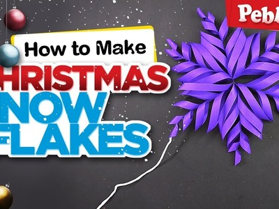 How to Make Snowflake With Paper | DIY Christmas Craft | Christmas decoration ideas