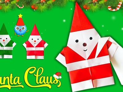 Make Paper Santa Claus for Christmas 2018????????Easy DIY Paper Crafts [4K]