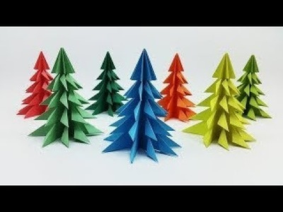 Make Simple & Easy a Christmas Tree | DIY Paper Craft Ideas, Videos & Tutorials