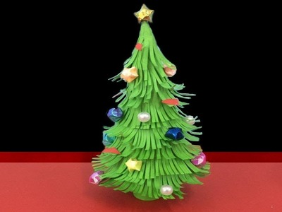 Make Simple Easy a Christmas Tree  DIY Paper Craft Ideas Videos  Tutorials