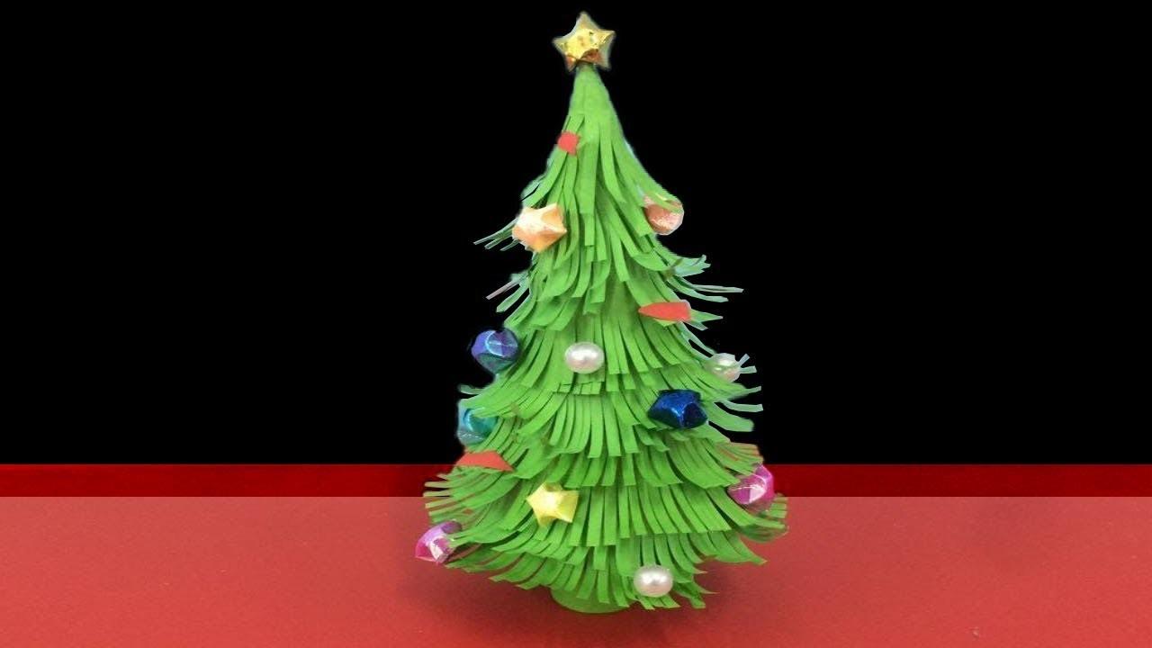 Make Simple Easy a Christmas Tree  DIY Paper Craft Ideas Videos  Tutorials