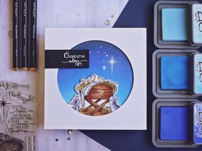 Nativity Scene Christmas Card | Colorado Craft Company