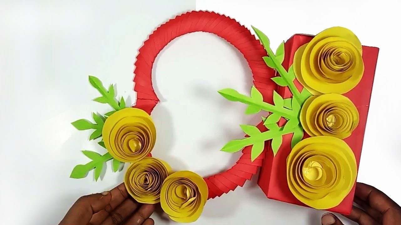 Paper Craft | Art and Craft with Paper | DIY Paper Craft Ideas For Decoration