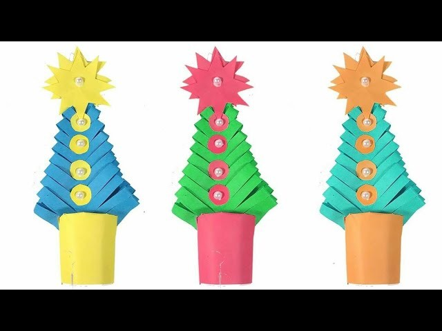 Paper Craft Idea for Christmas decoration | Christmas Decoration idea | Paper craft For Christmas