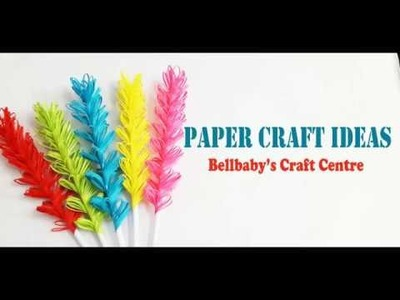 Paper Craft Ideas for Kids | Pindi perunaal Decoration | Bellbaby's Craft Centre