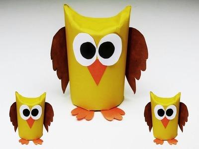 Paper Owl Crafts | Origami Owl Easy | Paper Craft Animals | Popular Craft