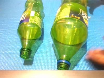 Plastic bottle craft idea |Plastic bottle vase idea ( also using Newspaper ) |Best out of waste