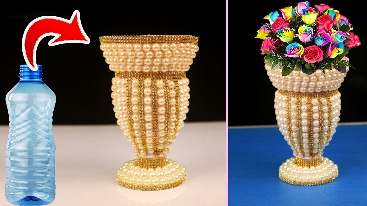home decorating ideas from waste plastic bottle flower vase best out of waste plastic 12707