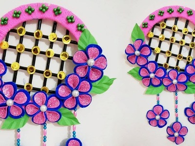 Wall Hanging at Home Easy. Home Decoration Idea. DIY Craft Ideas Wall Decoration