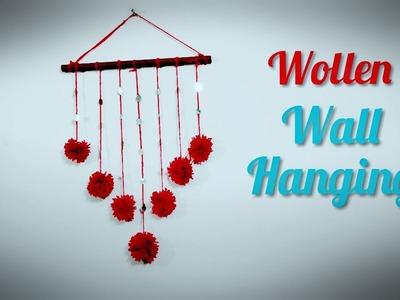 Woolen Wall Hanging | DIY | Pom Pom | Home Decorations | Simple Craft Ideas