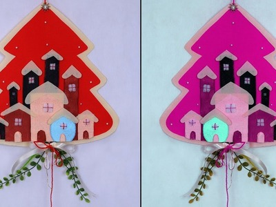 WOW .  Beautiful Christmas Craft Idea || Let's try this Christmas Craft