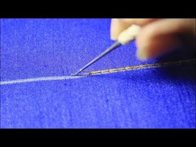 Aari  Stitch  For Beginners | Chain Stitch |End Stitch