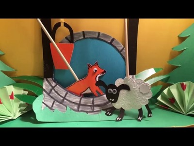 Amazing puppet show - The clever Fox (bedtime stories and tales for kids)