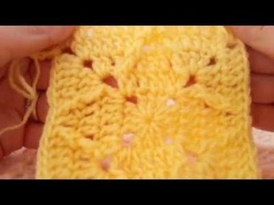 Asteri (The Star). Crochet blanket pattern. Video tutorial & stitch guide