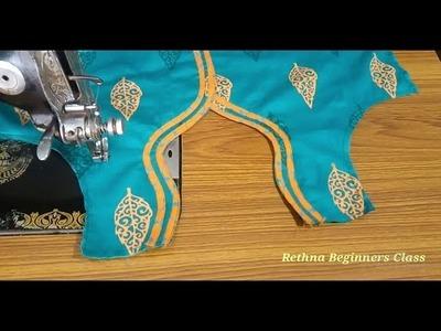 Chudithar top stitching beginners class-20