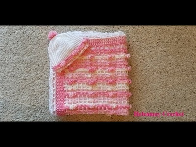 Crochet Flower of My Heart Matching Baby Hat DIY Video Tutorial