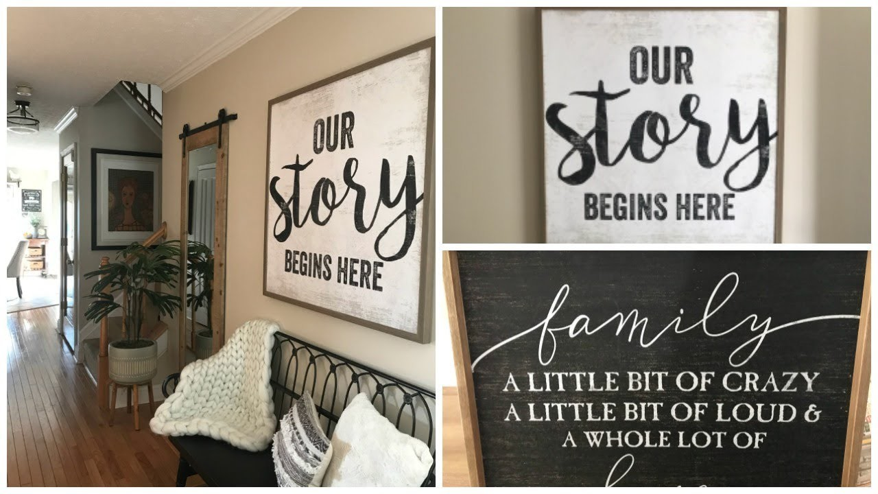 Decorate With Me Front Entry:  Adding to My Entryway, New Bench, Wall Art, & More