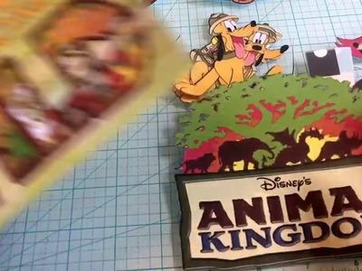 Disney safari Mickey and friends die cut cricut print and cut cut outs