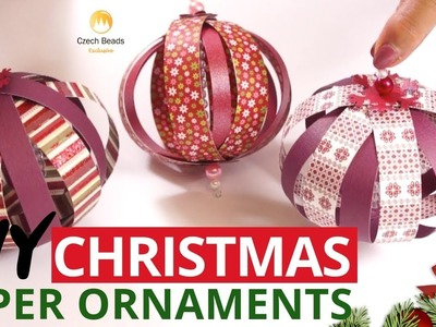 DIY Christmas Tree Ornaments Kits| The Best Gift| Home Decoration| Garland| Paper Lampions| Origami