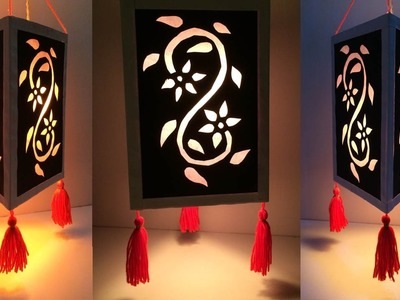 DIY Diwali decoration ideas at home easy.Home Decoration Idea.Lampshade.Lantern.Best Reuse Idea