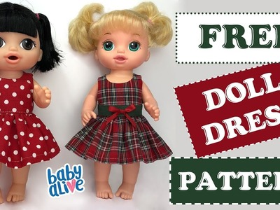 DIY ???? How to make a Baby Alive Doll Dress