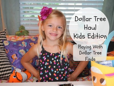 Dollar Tree Haul Kids Edition| Playing With Dollar Tree Finds| Lennon Love