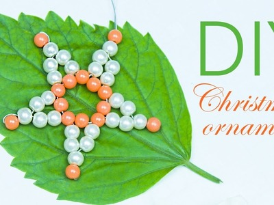 EASY-DIY Christmas star ornaments | Christmas tree ornament | Beads art