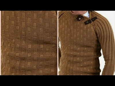 Easy Gents Sweater Design in Hindi.Knitting for Beginners:Design-201
