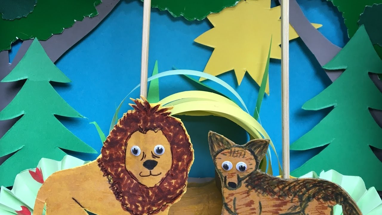 Fantastic puppet show - Talking cave + English subtitles (bedtime stories and tales for kids)