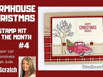 Farmhouse Christmas Stamp Kit Card 4