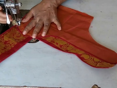 Fish Cutting Blouse With Stitching And Cutting ||VAISHNAVI BOUTIQUE||
