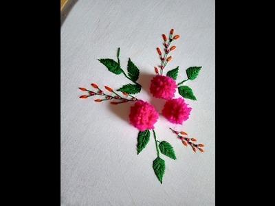 Hand embroidery. Hand embroidery design. Hand embroidery stitches.