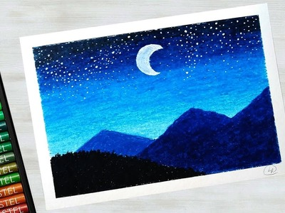 Easy Mountain Beginner Scenery Drawing Pictures Www Picturesboss Com