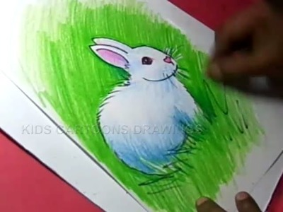 How to Draw Rabbit Drawing Step by Step for Kids