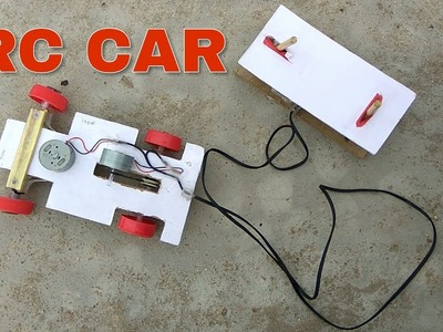 How to make a Remote Controlled Car at Home Easy || Make RC Car
