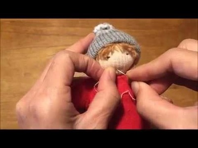 How To  Make a walking Hand puppet