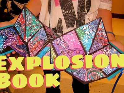 How to make an Explosion Book.Squash Book