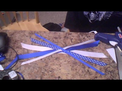 How to make cheerleading bows!:)