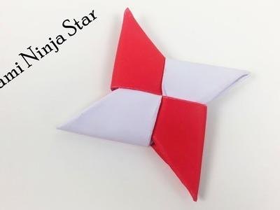 How to Make Easy Ninja Paper Star - DIY Origami Paper Ninja Star (Shuriken)   Simple Daily Origami