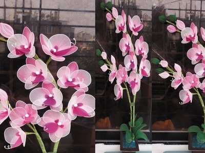 How to make Nylon stocking orchids ????????