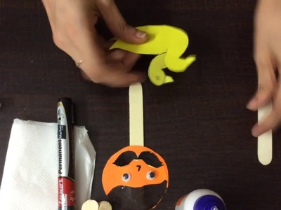 How to make stick-puppets