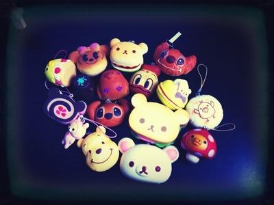 Mini Squishy Collection (Disney and Rilakkuma!)
