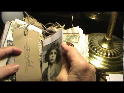 "Napkin prayer journal with some new ""junk"""