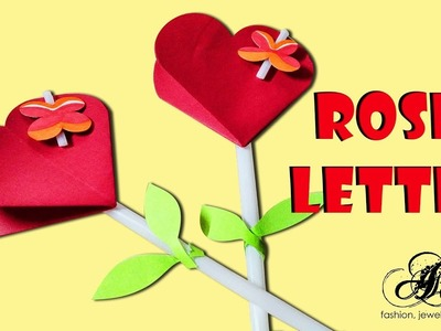 Rose Letter | Greeting Card for Friend by Artist Archana