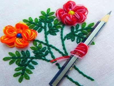 Sewing Hack with  Pencil, Hand Embroidery Amazing Trick