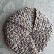 Tawashi (Scrubby) made with 100% cotton yarn - Beige 002